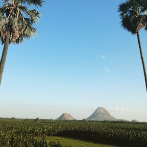 The road to Kanyakumari
