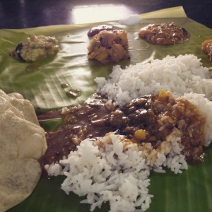 Banana leaf meal