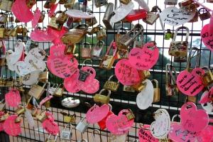 Penang love locks