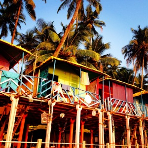 Goa huts