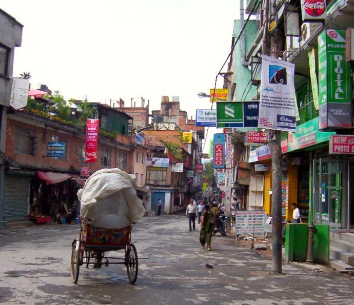 Thamel intersection